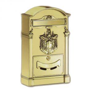 cassetta postale residence ottone